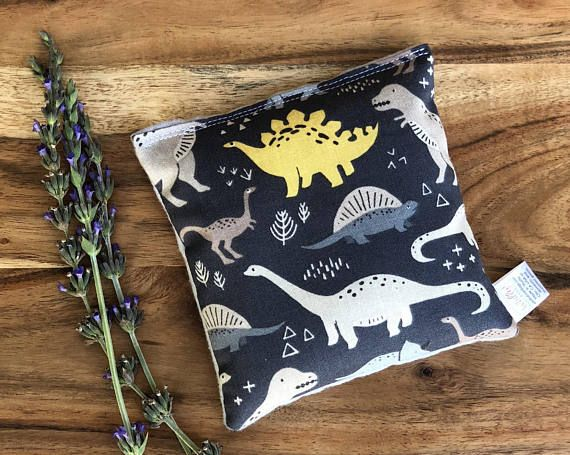 Dinosaur Gift Sensory Bean Bag Kid Ice Pack Warmer Lavender Heating Pad Microwave Heat Cold