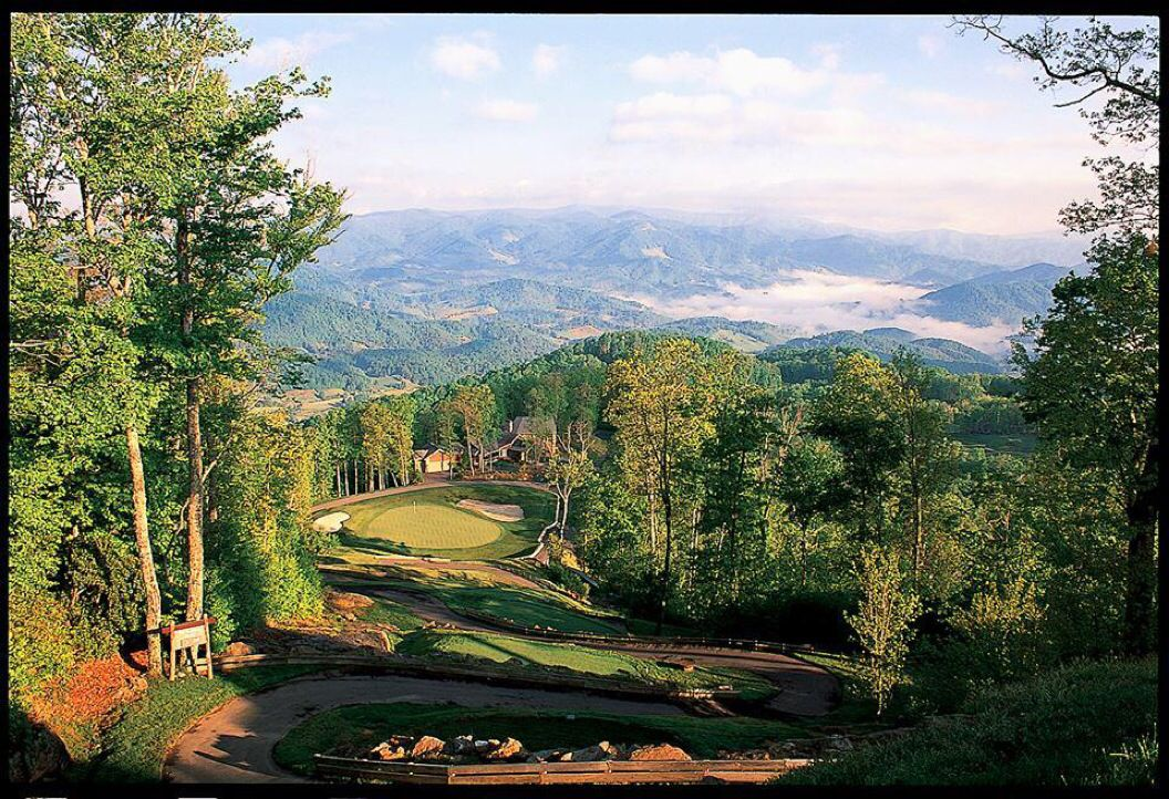 Mountain Air G&CC, North Carolina, USA. Mountains, Golf