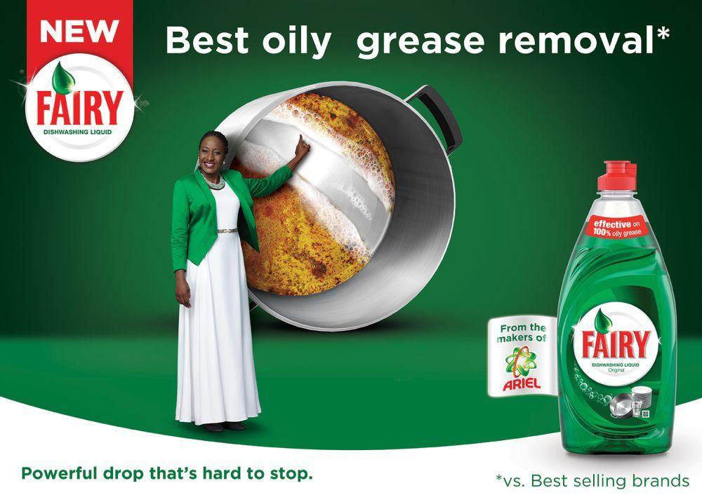 Ireti Doyle Is Fairy Dishwashing Liquid S Brand Ambassador As It Launches The Original Dishwashing Liquid Food Packaging Design Social Media Branding Design