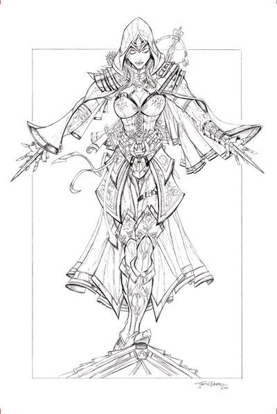 Assassin S Creed Pencils By Jamietyndall Deviantart Com On