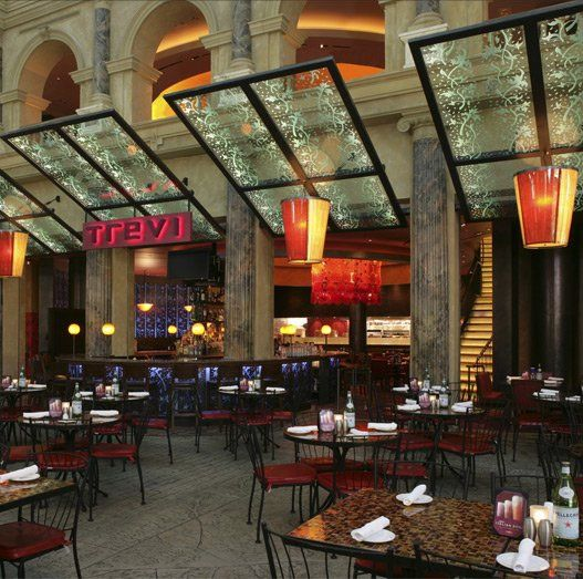 Trevi Italian Restaurant A Morton S Group Concept Located In The Forum At Caesars Palace