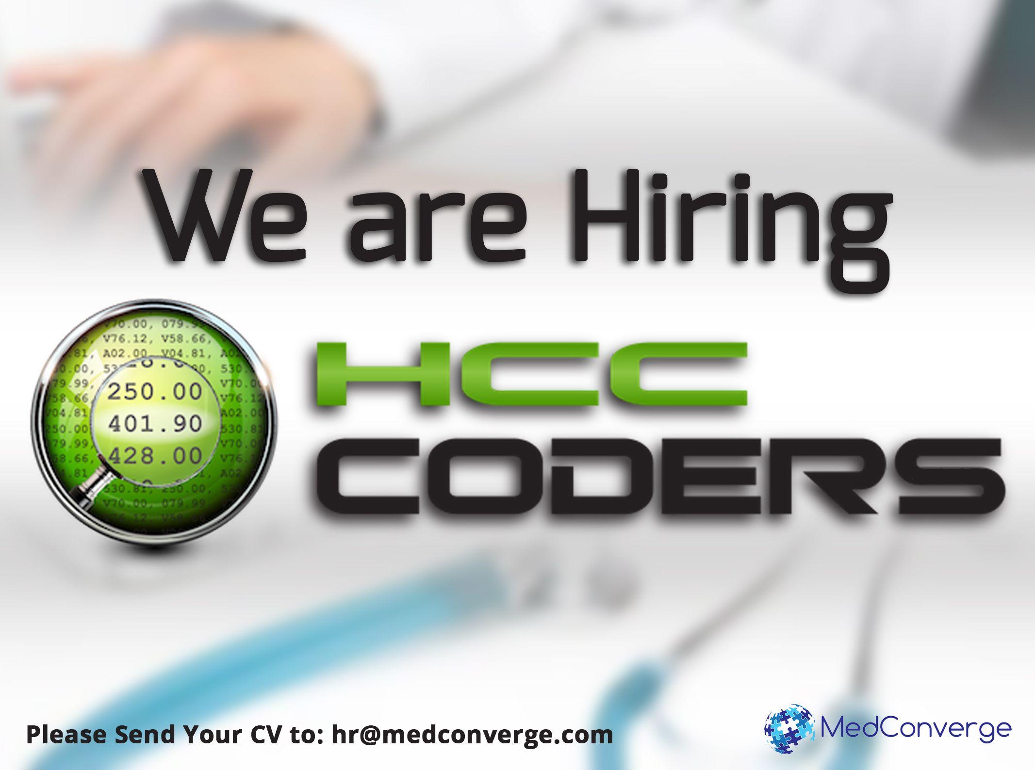 Opening For Aapc Ahima Certified Hcc Coders Aapc Ahima Hcc
