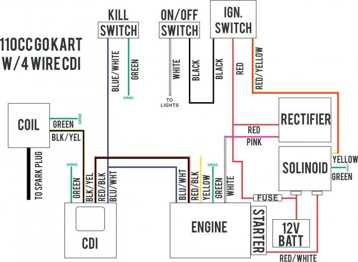 4 pin rectifier wiring diagram 4 pin diode wiring diagram