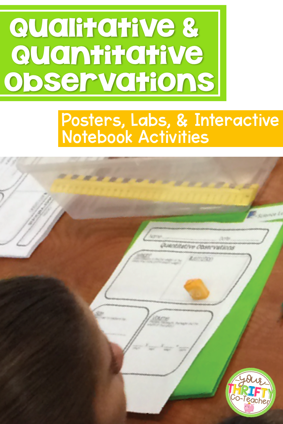 Qualitative & Quantitative Observations Poster, Text ...