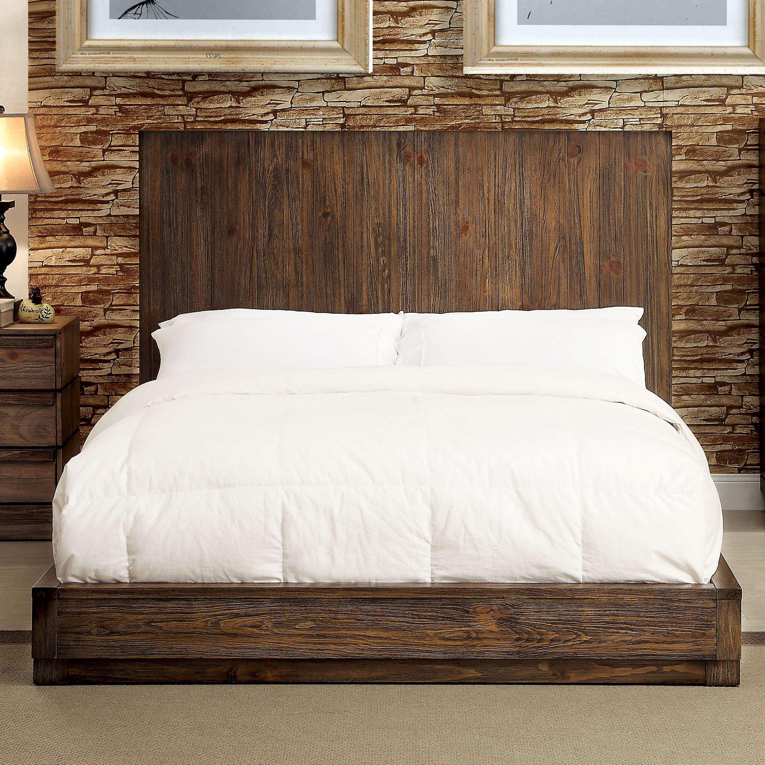 Furniture of america mercutio platform bed from hayneedle