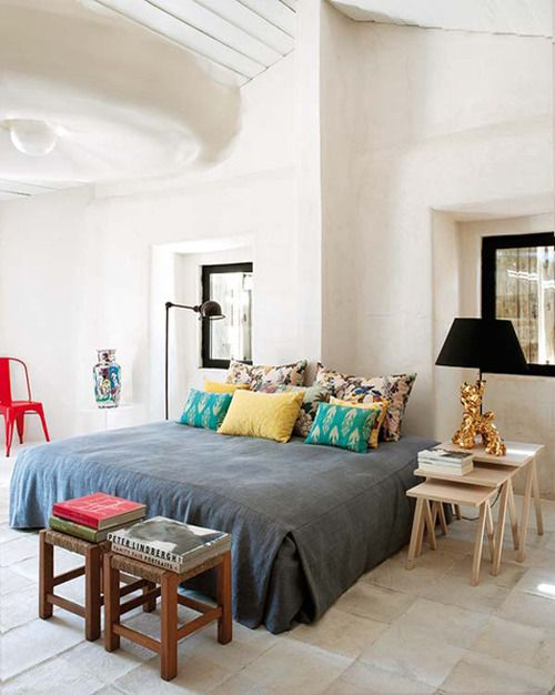 via La Belle Chambre Mix of classy and playfulness For the Home