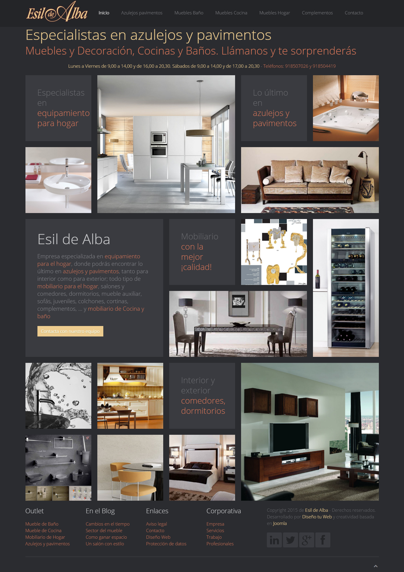 Esil De Alba Especialistas En Azulejos Y Pavimentos Muebles Y