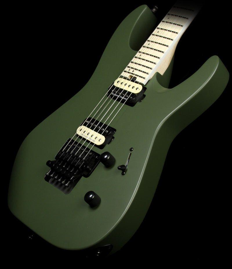 Jackson Pro Dinky DK2M Electric Guitar Matte Army Drab