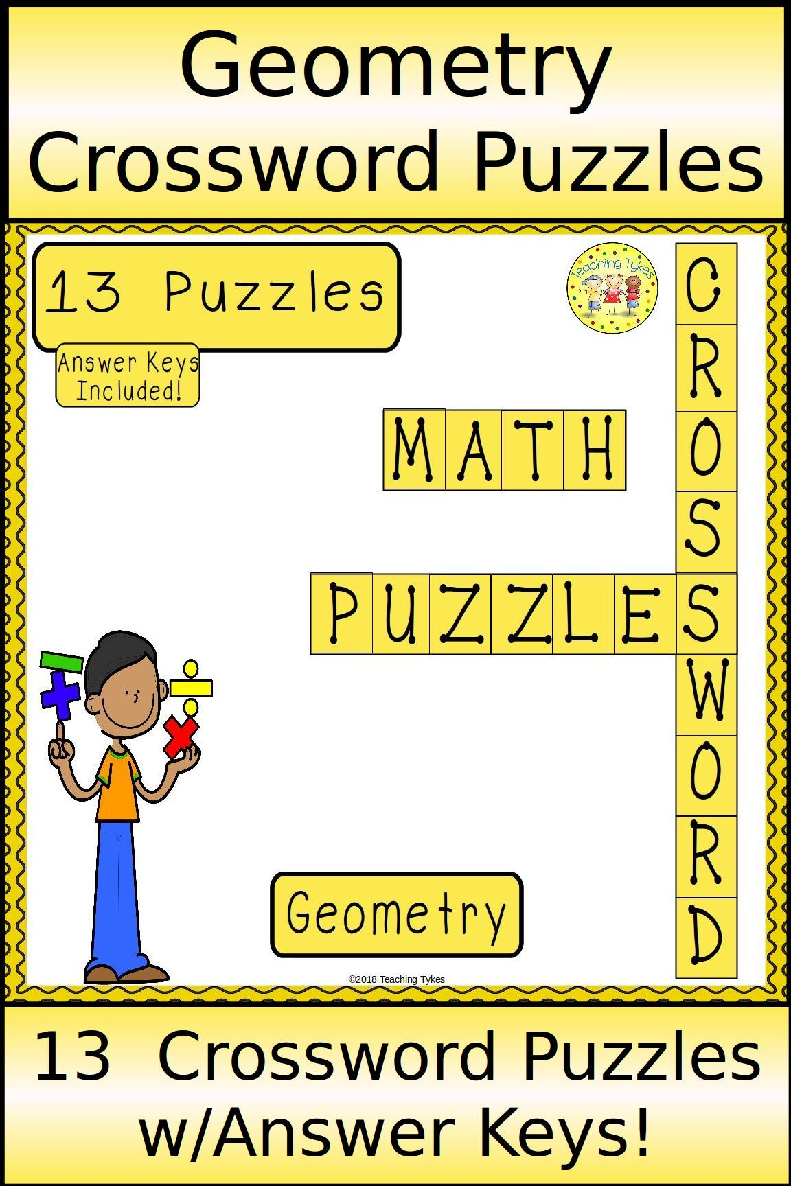 Geometry Crossword Puzzles With Images