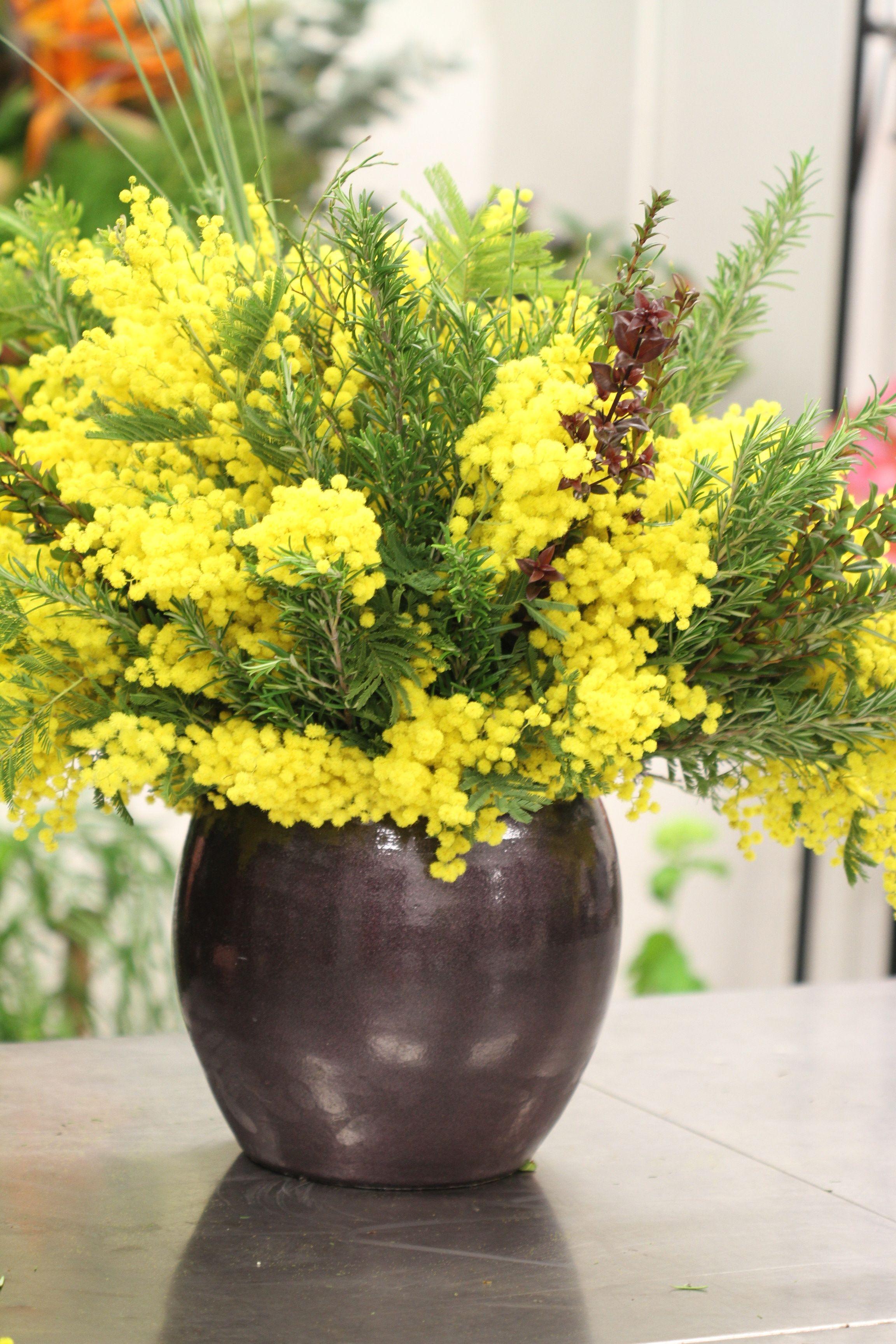 Atelier Floral Aquarelle Com Bouquet D Hiver Provencal Compose