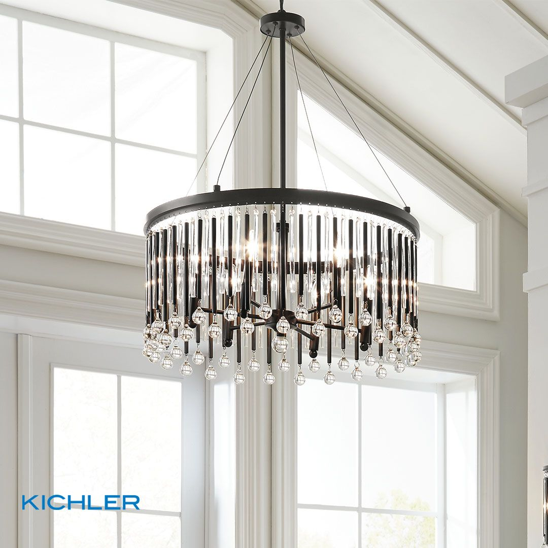 Kichlerlighting kichlerlighting lighting chandelier beautiful melbournefl florida homedecor thehouseoflights pendant chandelier glasslight