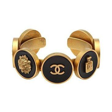 Vintage Chanel Cuff...depuis1924