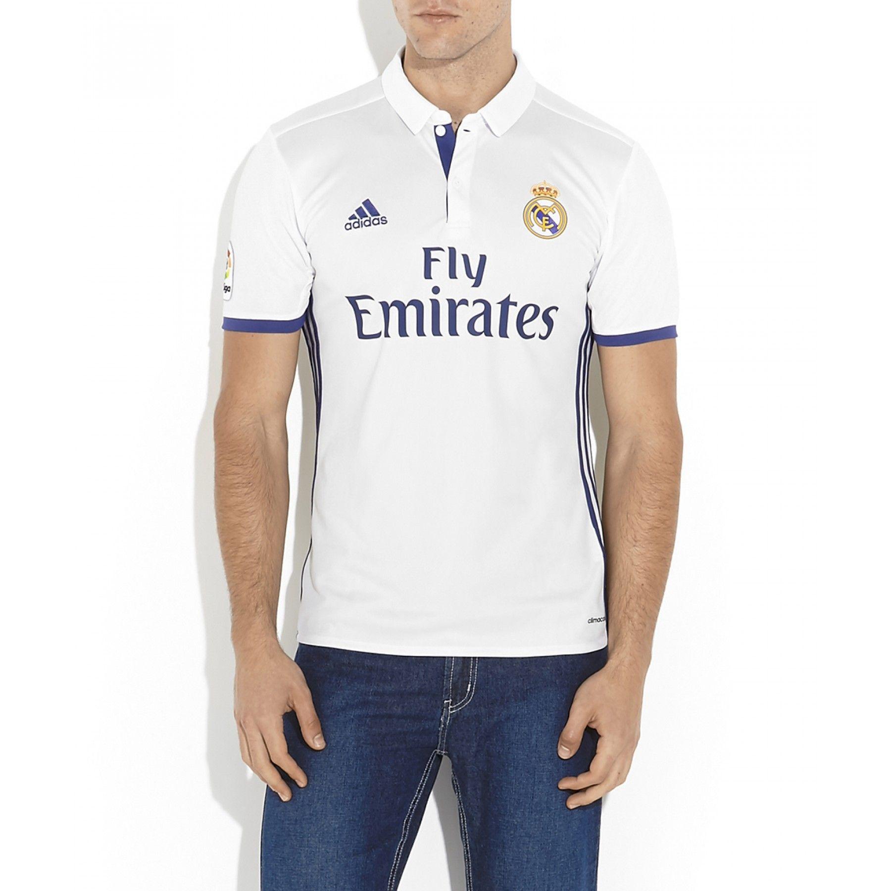 c65e63379df76 Jersey Adidas de corte recto en tejido de punto con diseño del Club de  Fútbol Real