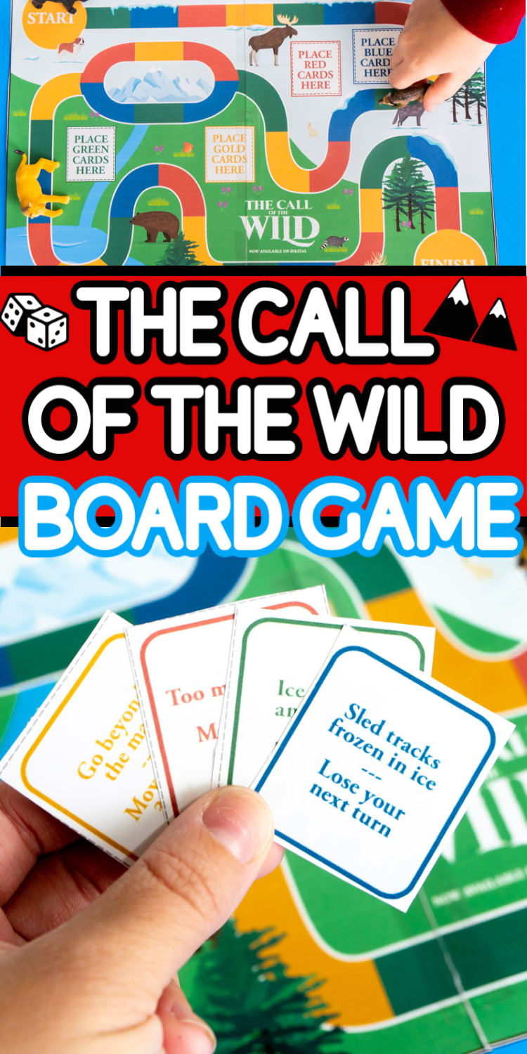 Free Printable The Call of the Wild Activities