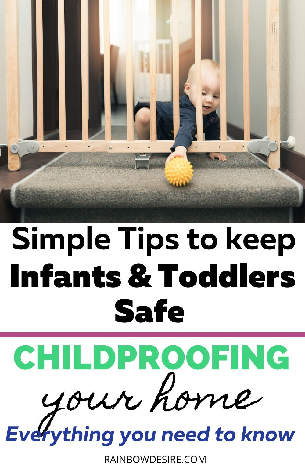 Baby Proofing When and How to keep your baby safe in