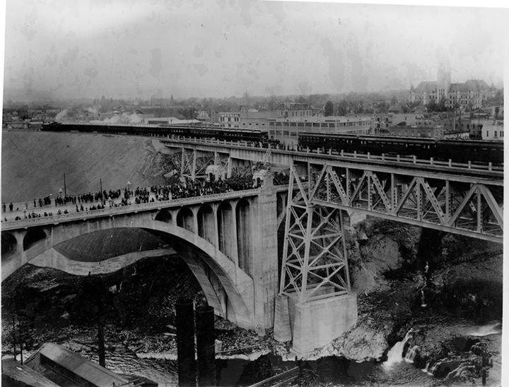 Pin By Laura Adams On Old Spokane Bridge Railroad