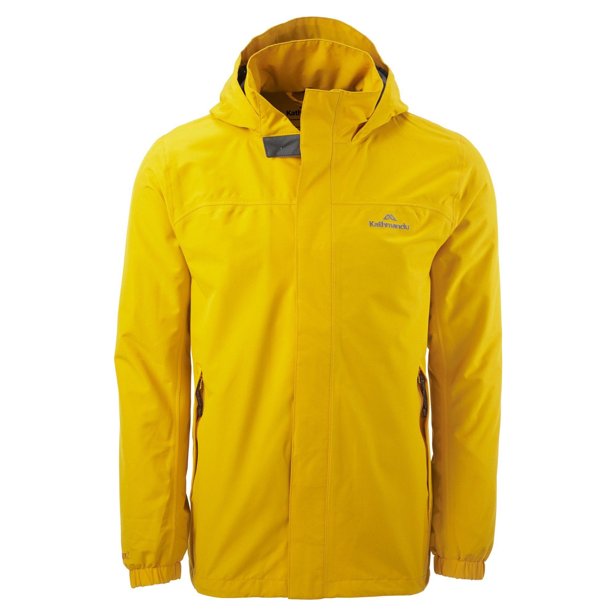 Buy Andulo Men's 2 Layer Waterproof Jacket - Gold online at ...