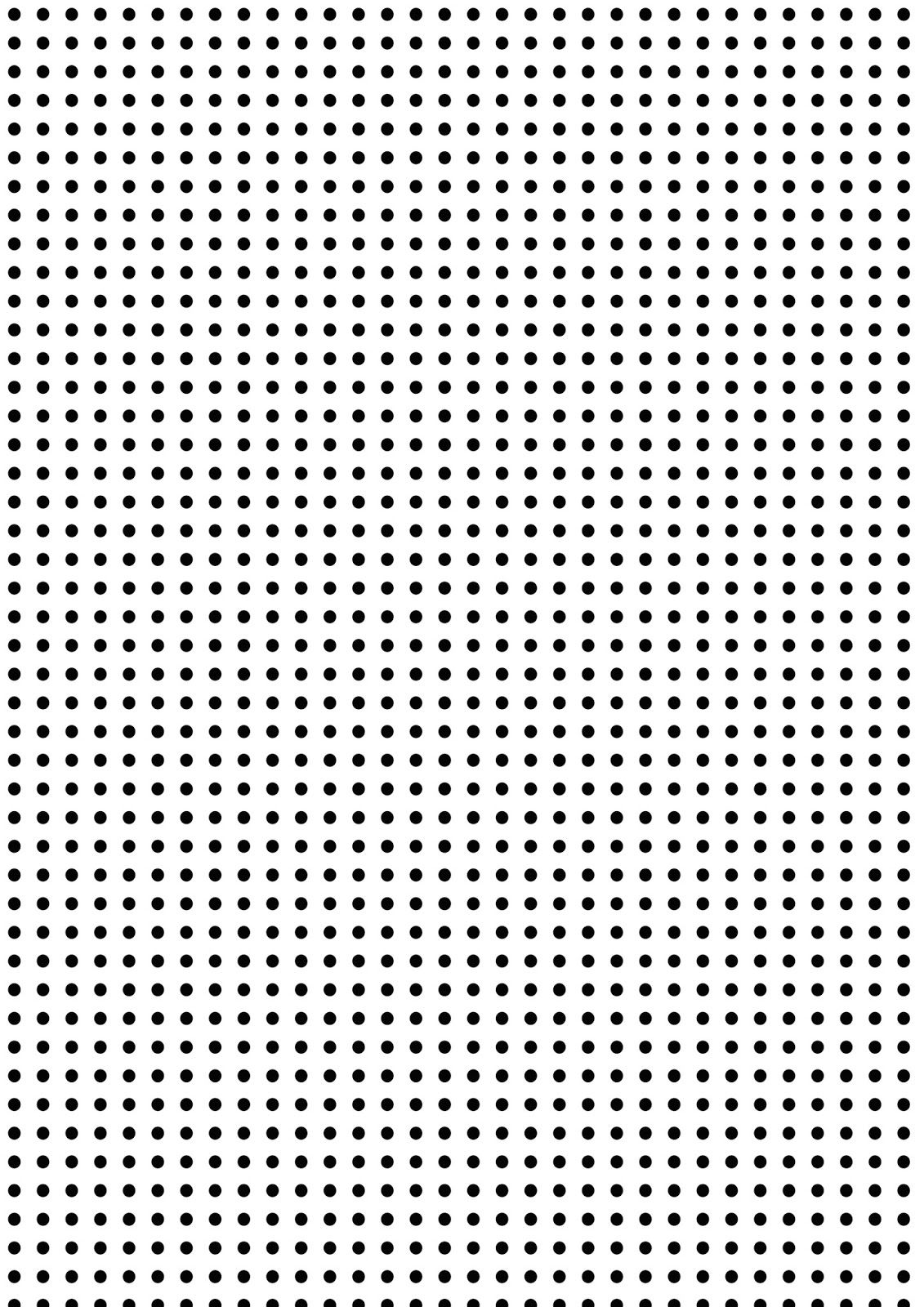Free Printable BlackAndWhite Dots Pattern Paper  Kolorowe
