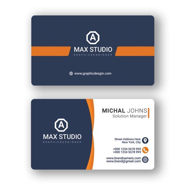 Best Business Card Design Business Card Design Cool Business Cards Vertical Business Card Template