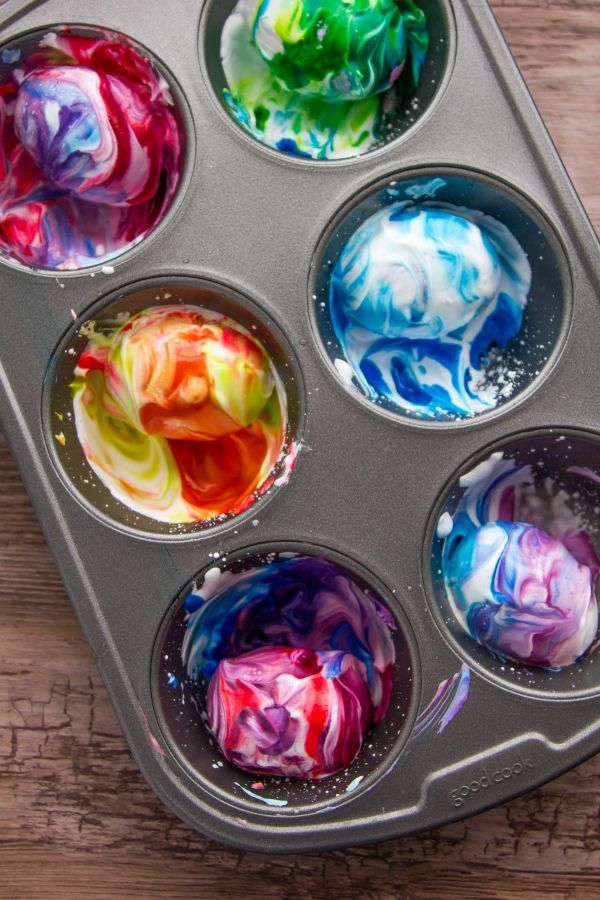 How to Dye Easter Eggs — With Shaving Cream
