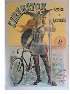 AFFICHE : LIBERATOR CYCLES & AUTOMOBILES by PAL (Jean DE PALEOLOGUE): Très bon Pas de couverture   Philippe Beguin Affiches et livres ancie