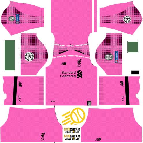 ▷ Kits Liverpool Dream League Soccer 2019 - 2018 2017
