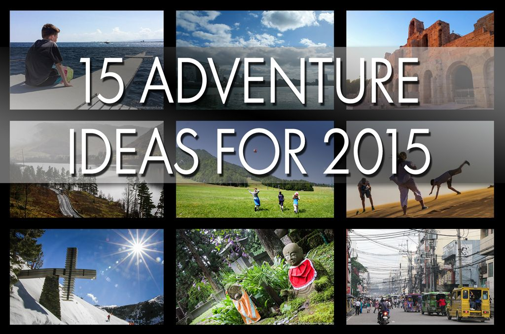 Top 15 Adventure Ideas for 2015 | Ideen, Tops und Inspiration