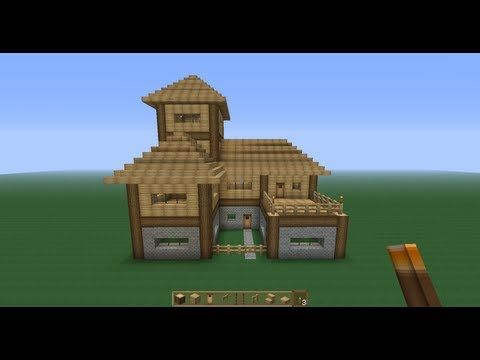Perfect Minecraft Survival House!!  Tutorial   YouTube