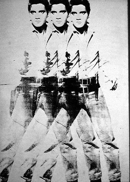 Warhol Andy, Elvis triplo 1964 #andywarhol