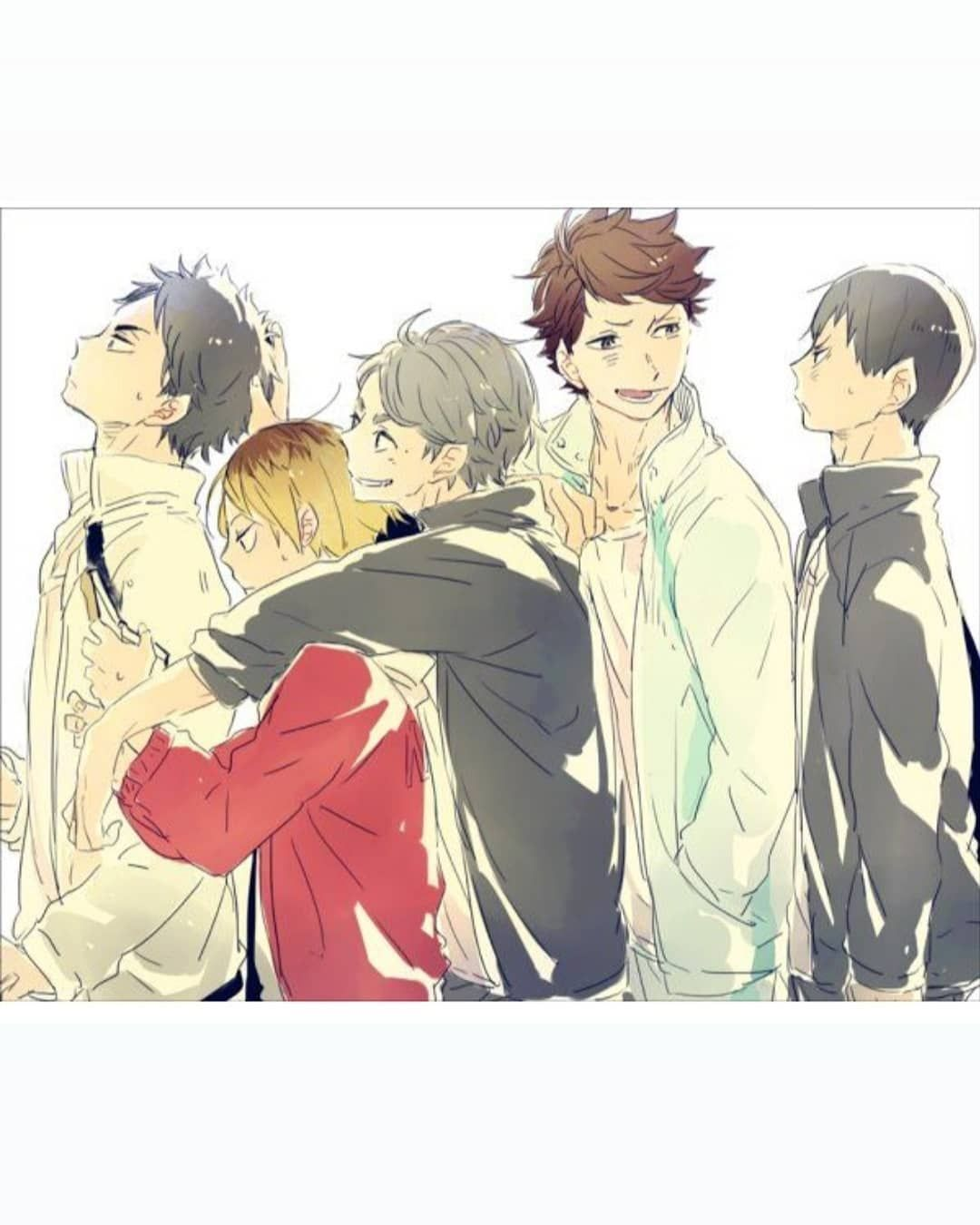 Avourite Volleyball Position Obviously Setter Because I M A Setter Too And I Love It Credited To Artists Haikyuu Haikyuu Charaktere Zeichnungen