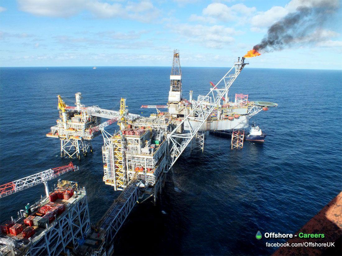 OILRIG PLATFORM COMPLEX OFFSHORE Oil platform, Drilling