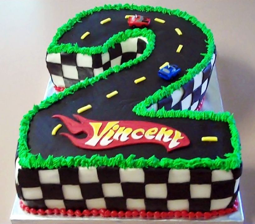 Cars Theme Birthday Party Décor Ideas Birthday Cakes Wheels And - Birthday cake cars 2