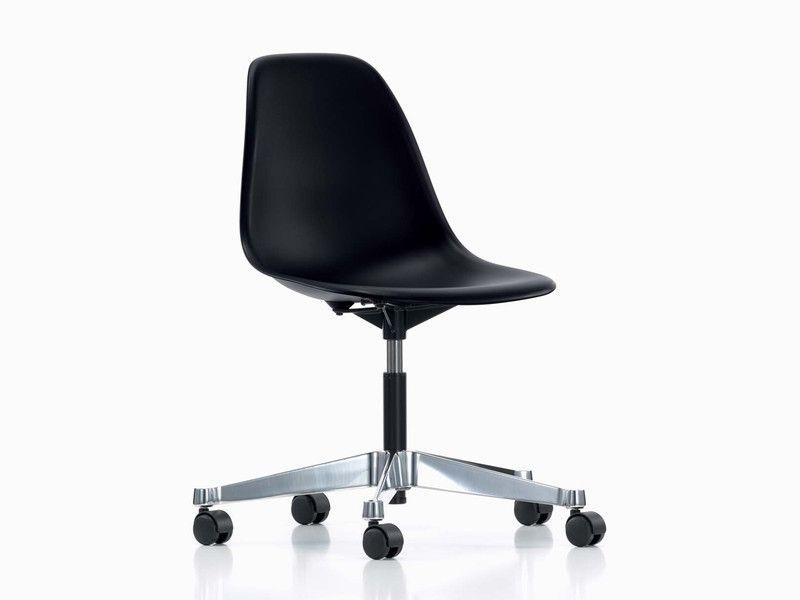 Vitra Pscc Eames Plastic Side Chair Contemporary Office Chairs Office Chairs Online Chair