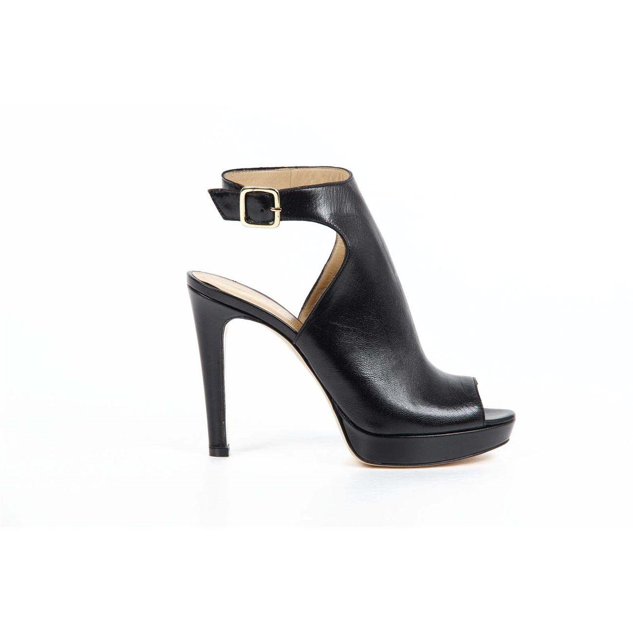 Versace 19.69 Abbigliamento Sportivo Srl Milano Italia ladies sandal 5929-863 NAPPA CHIC NERA