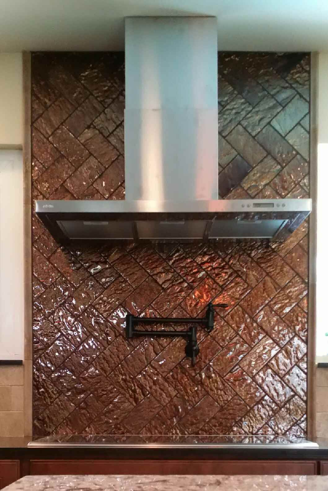 Tiletuesday Features A Herringbone Pattern Install Of Our Vista Series In Signoretto Out Of