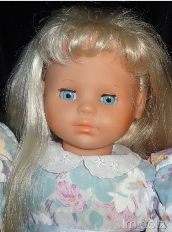 Doll By Max Zapf 1986 Made In West Germany By Vintagedolz