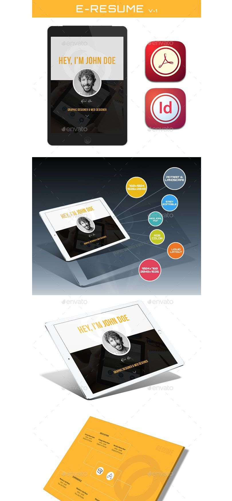 """Check out my Behance project """"Resume Ebook"""" https//www"""