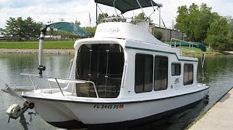 2002 Adventure Craft Ac2800 Trailerable Houseboat For Sale
