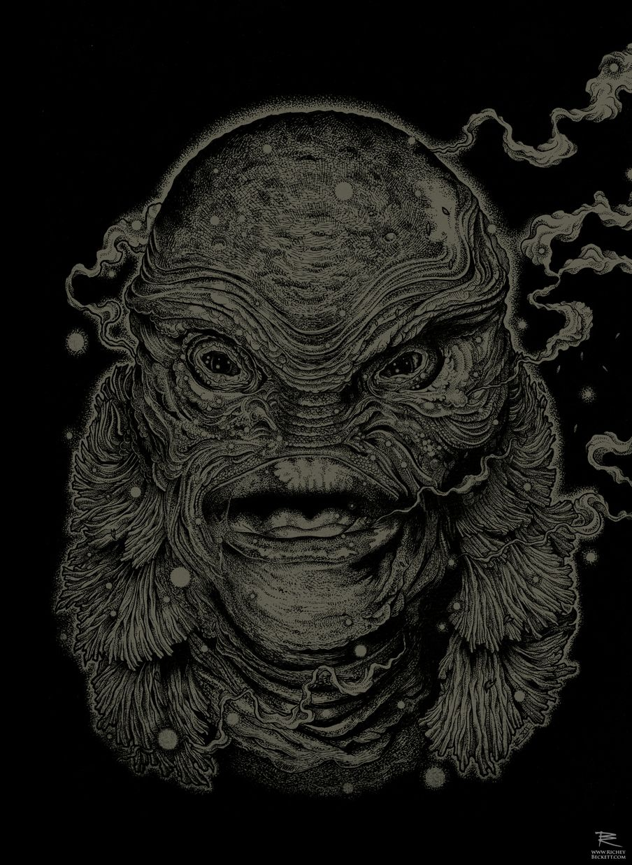 The Creature From The Black Lagoon - Richey Beckett ----