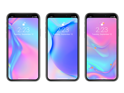 Free iPhone X , Notchless Wallpapers