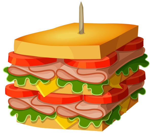 Colorful Club Sandwich Png Transparent Premium Image By Rawpixel Com Noon Club Sandwich How To Draw Hands Sandwich Drawing