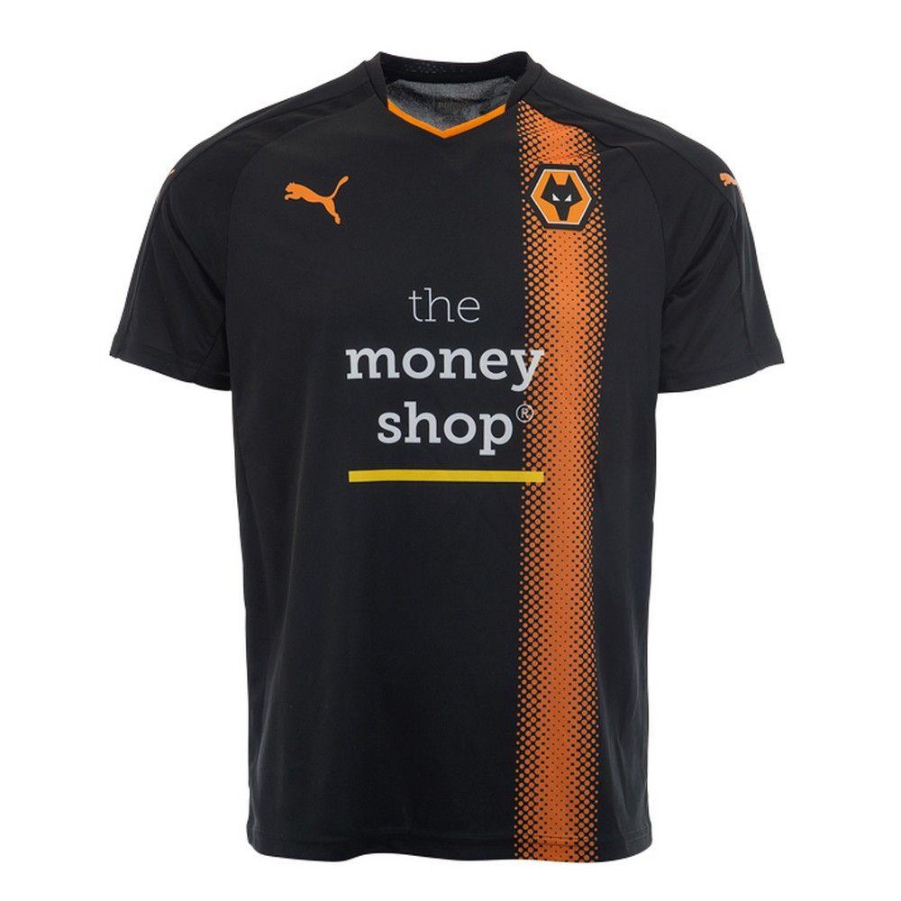 Camisas do Wolverhampton 2017-2018 Puma  cf22ffd5b4942