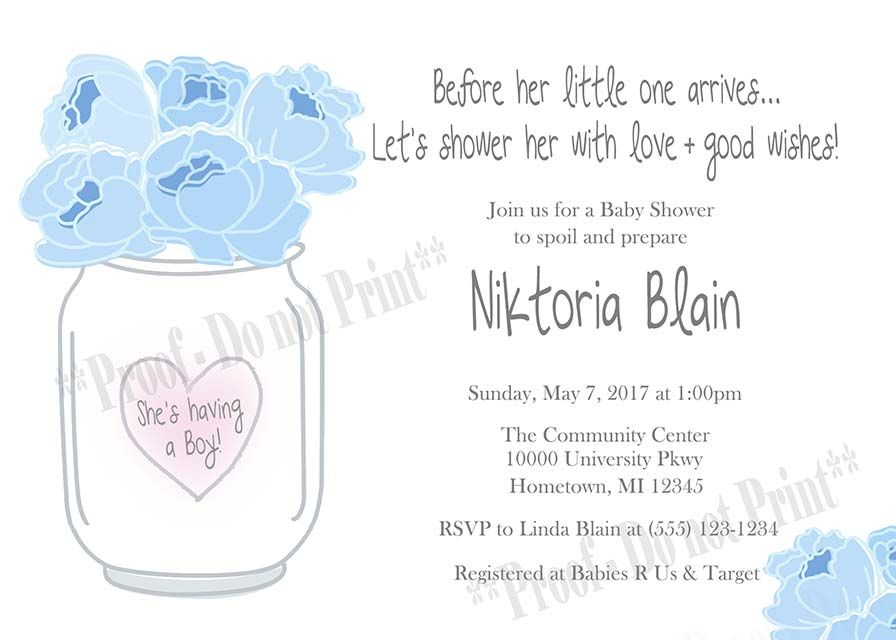 baby mason jar shower invitation need party invitations fast with