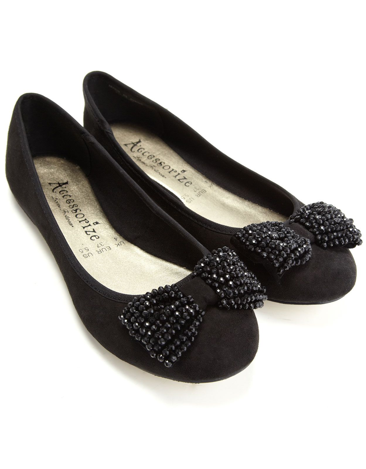 Sparkle shoes, Jeweled shoes, Bow flats