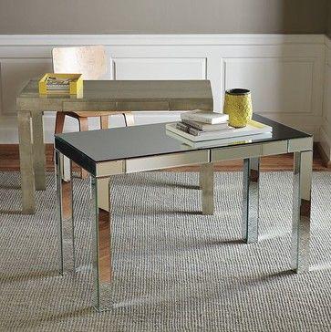 Parsons Mirror Desk West Elm Modern Desks And Hutches By West Elm Parsons Desk Desk Mirror Home Decor