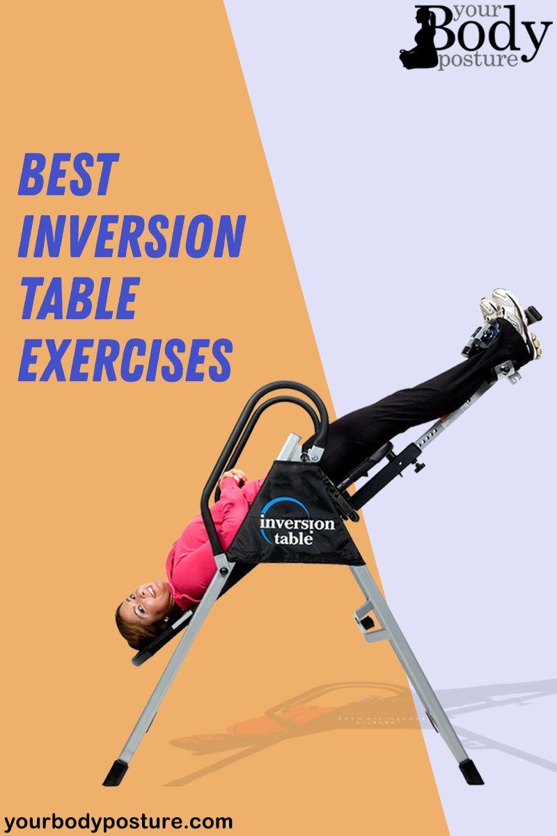 Inversion Table Exercises Inversion Table Exercise Inversions