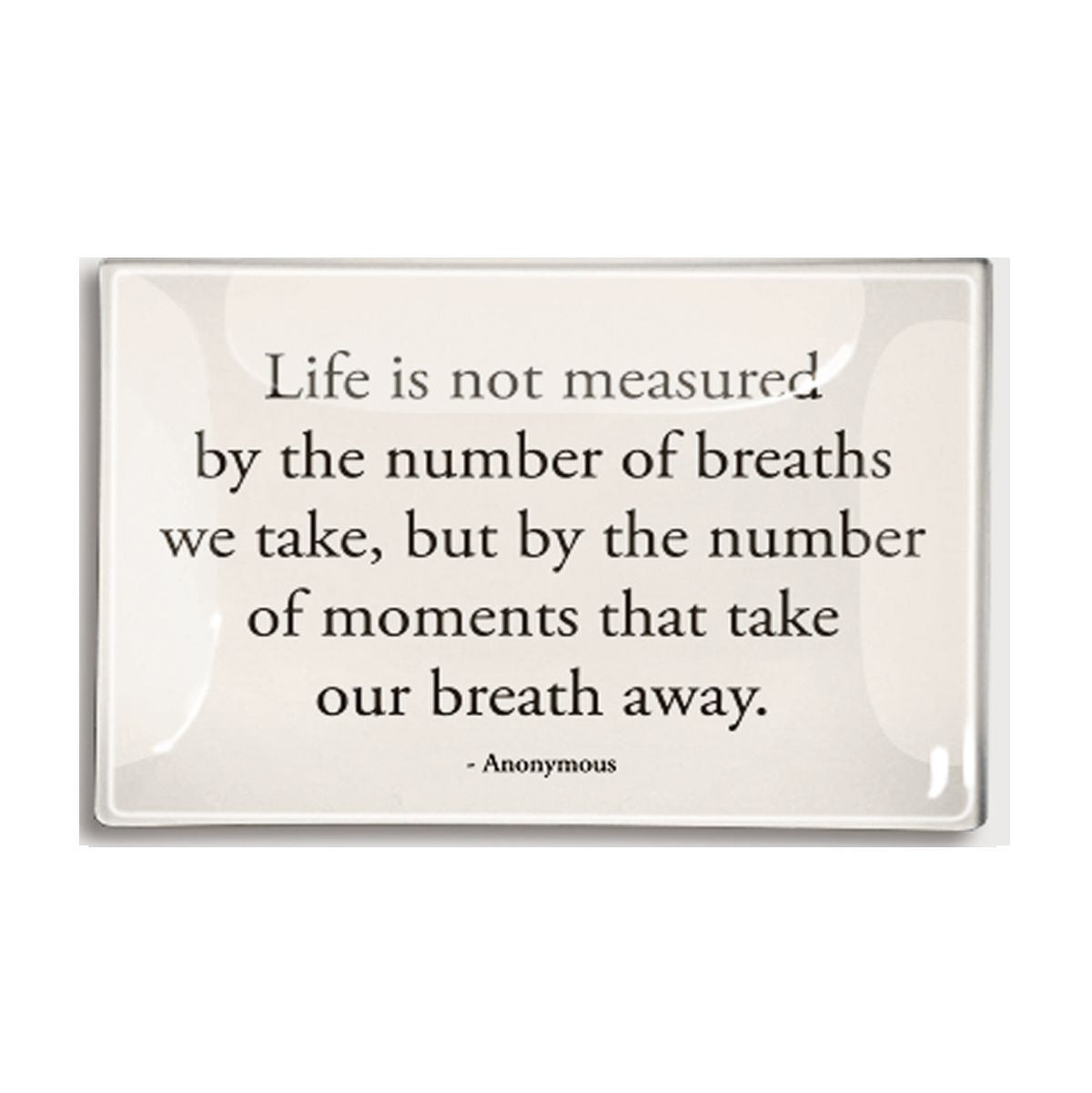 Life Is Not Measured Quote Ben's Garden  Popular Quotes And Famous Quotes