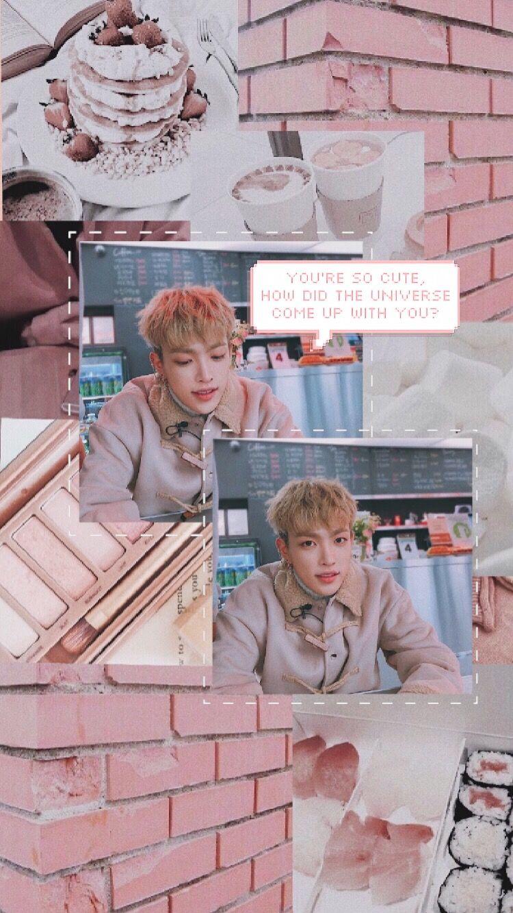 Hongjoong Lockscreen I Made Oop In 2019 Kpop Backgrounds