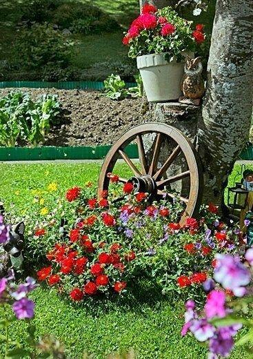 Bonitas imagenes con buenas ideas de decoracion para el jardin con ...