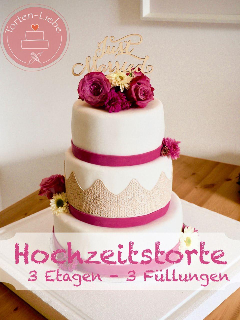 Rezepte torte für hochzeit Geometrische Torte